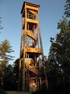 Hinauf auf den Chutzenturm